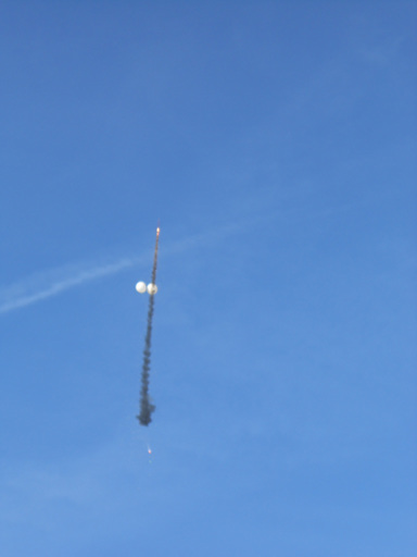 Successful remote ignition of the UW ESS Rockoon