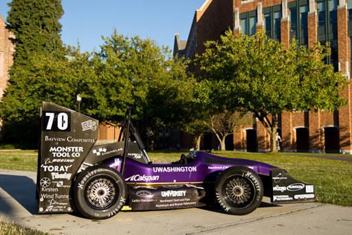UW FSAE Team 23 car